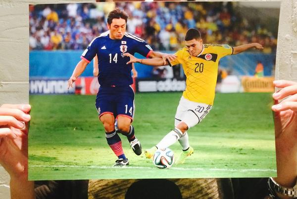 青山敏弘ブラジルワールドカップ